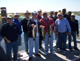 Another great group fishing trip on Lake Kissimmee
